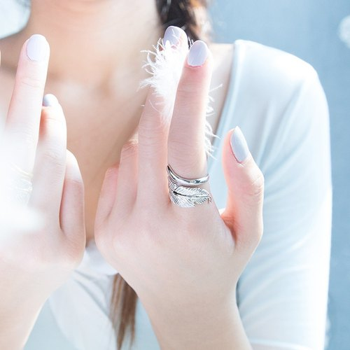 Angel Trace Ring (Silver)