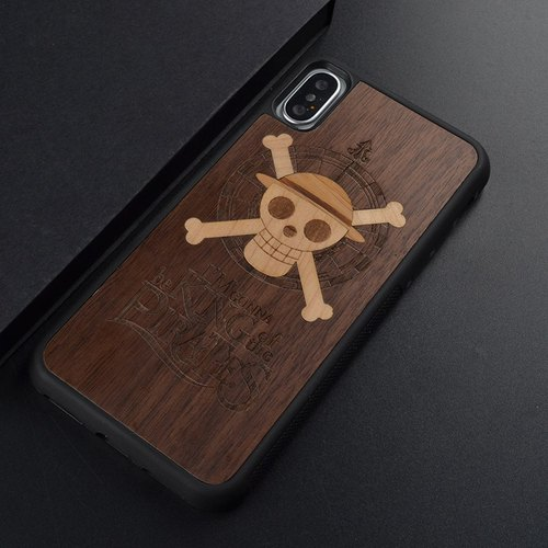 Iphone X 7 8 s Samsung S7 Edge S8 Plus Customized Wooden Original Phone Case