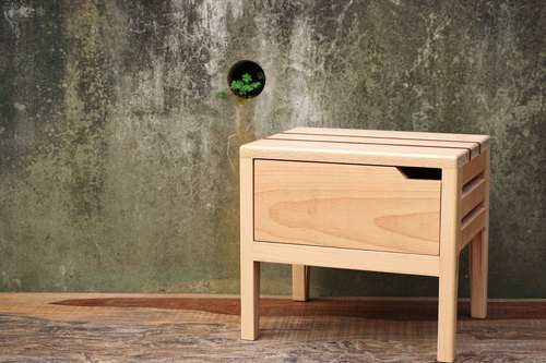 Three and workshop drawer stool