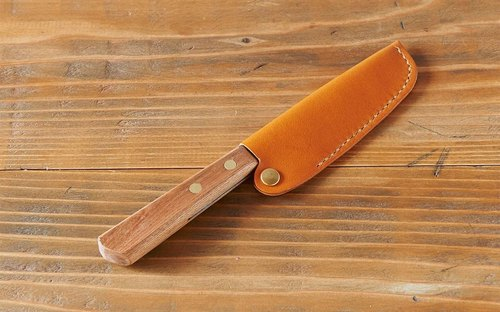 [Re-arrival] leather case special kitchen knife