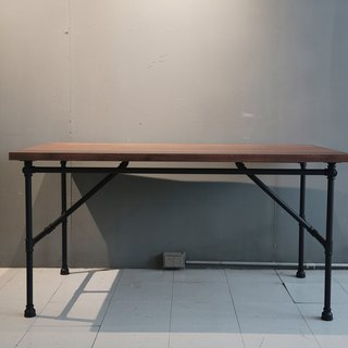 Industrial wind pipe table legs _ oak anti-scratch beauty table / desk / coffee table /**welcome to order**