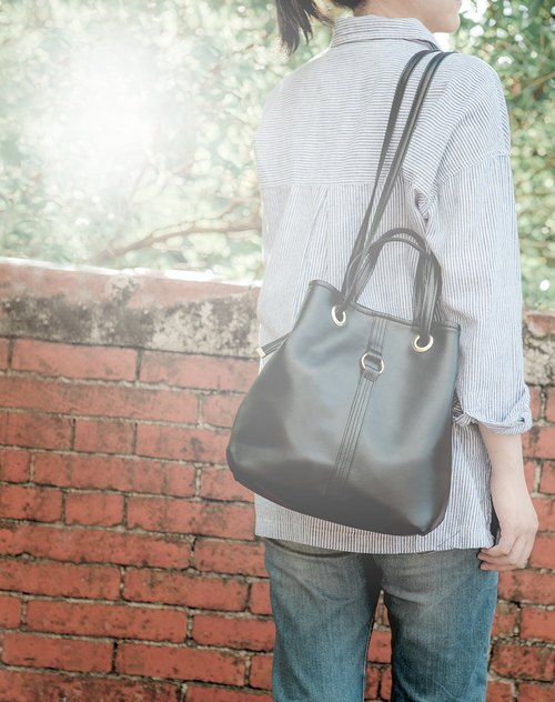 CLM wear a rope bag _ black