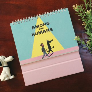 迪梦奇Among the Humans 2019 desk calendar