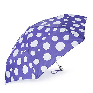 Ultra Lightweight Auto Open Close Umbrella - Polka Dot