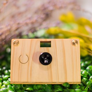 Paper Shoot wooden camera gift (include hardcover box 、 two lens and  SD CARD)