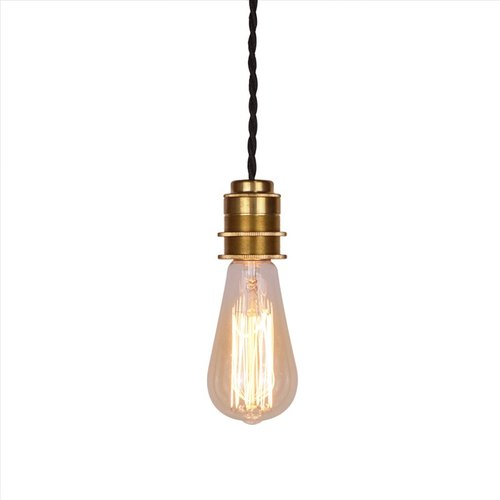 Brass Single Pendant Edison Copper Lamp