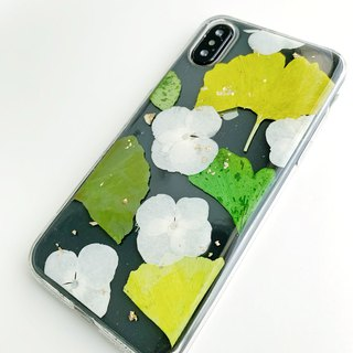 Cloud Green:: Grass green embossed mobile phone shell graduation gift bouquet