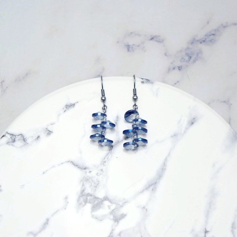 Water ladder earrings