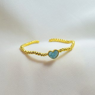 Heartbeat bangle
