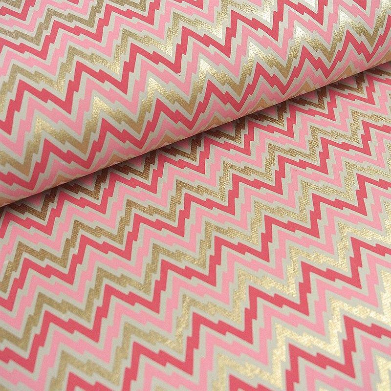Shizen 粉紅閃電 手工包裝紙