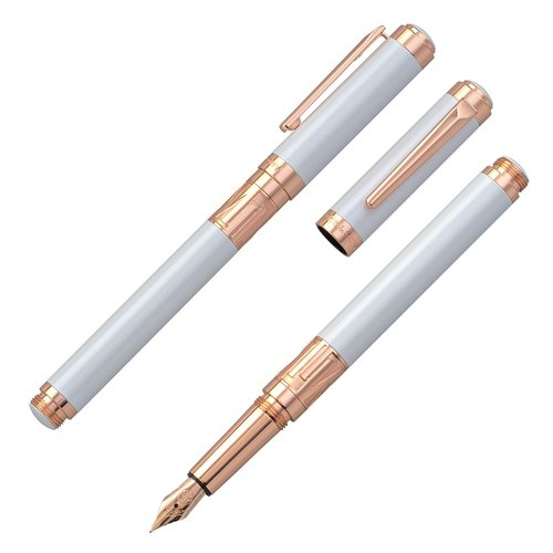 [Chris & Carey] Toki series (lettering) / plain pearl white pen TKFP-01
