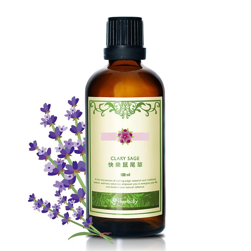 [Herbal True Feelings] Happy Sage Pure Essential Oil (100ml) (P4018455)