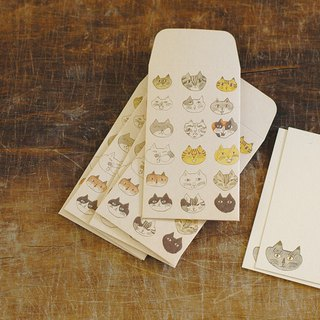 Classiky TORANEKO BONBON Mini Envelope + Card Set (M)【Cat (99212-03)】