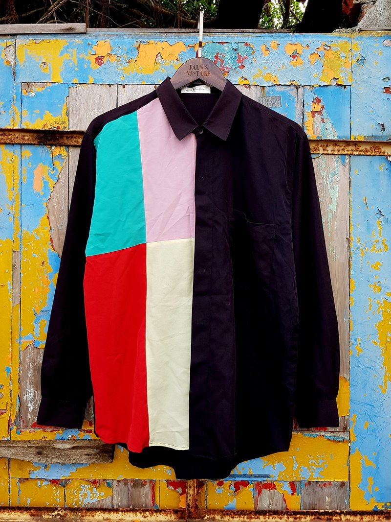 Turtle Gege - DISCO color vintage shirt VINTAGE