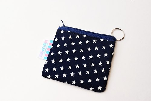 Key Bag - Purse - Starry