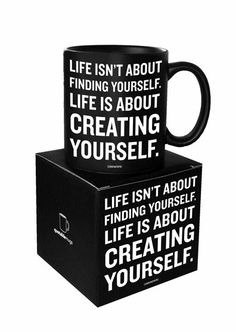Creating Yourself 名言杯