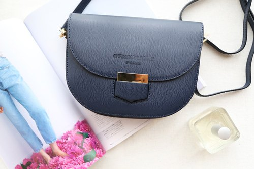 Christian Laurier-INES Saddle Bag (night dark blue)