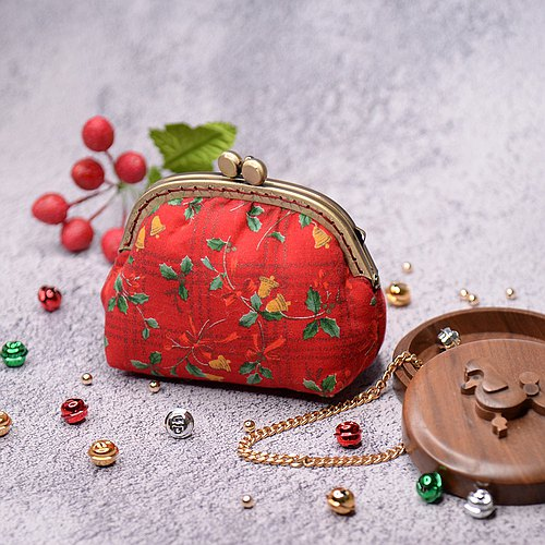 Jingle Bells purse mouth gold package