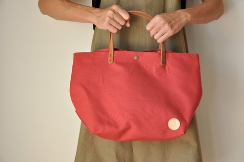 HB08 in canvas bag - Berry Red