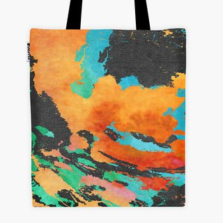 Spot - Filament Canvas Bag - Multi color slick