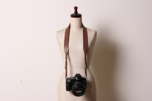 Tea leather wide coffee camera straps