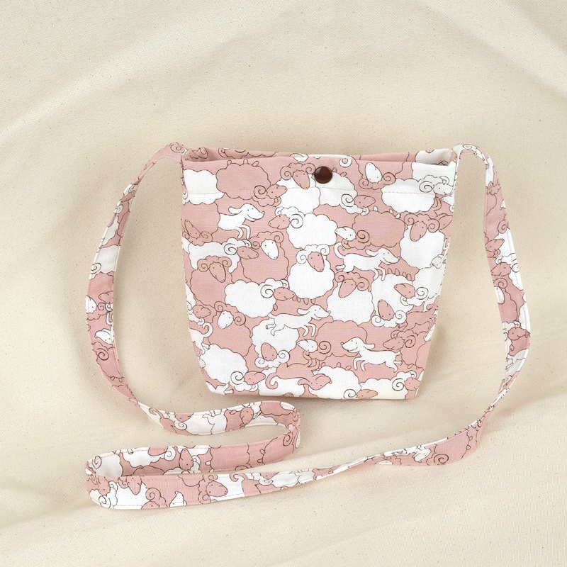 [Limited] Pale Pink Sheep Sling Bag