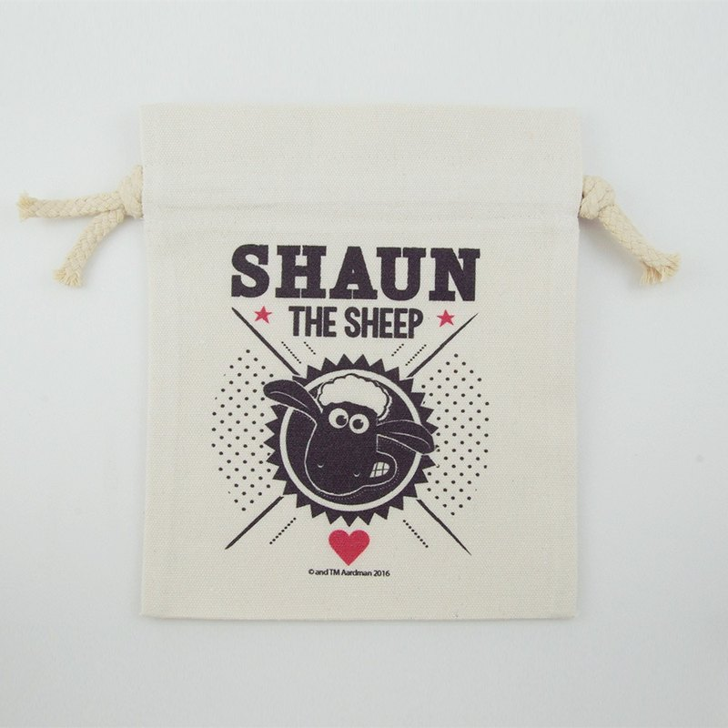Smiled sheep genuine authority (Shaun The Sheep) - Pouch (Small): [Vogue]