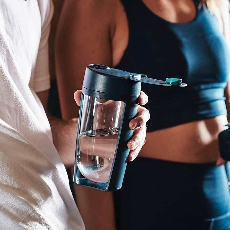 澳洲MOUS Fitness 運動健身搖搖杯 - 海軍藍