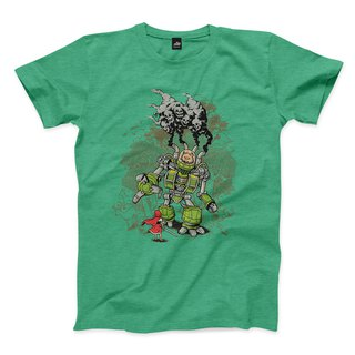 Bravery Warrior - Heather Green - Neutral T-Shirt