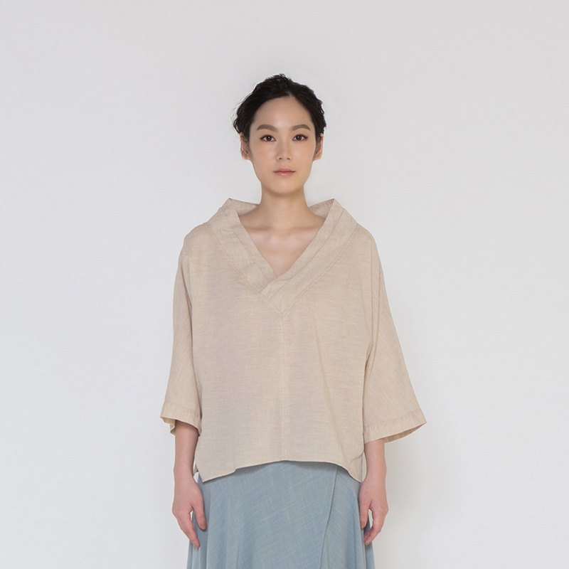 沉靜時光開襟上衣 Save The Moment Kimono V neck Top