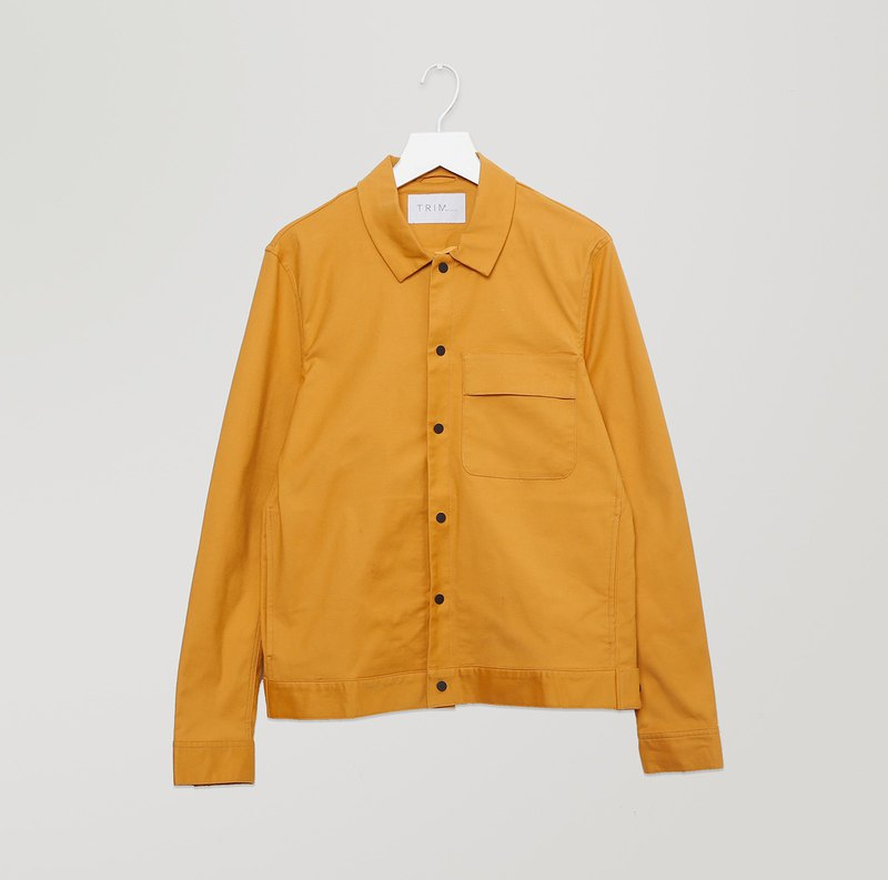 Pre-order Twill Shirt Jacket with Pocket