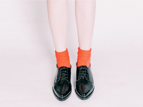 Multicolor hand strap! Black - cream frost matte Derby shoes [Major Pleasure] full leather MIT Taiwan handmade