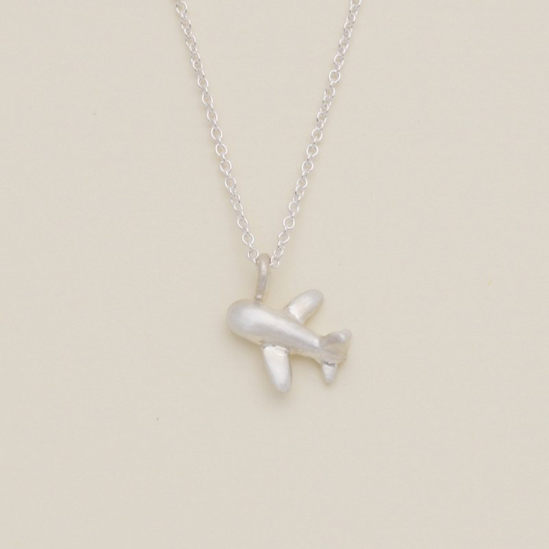 Little Airplane Necklace