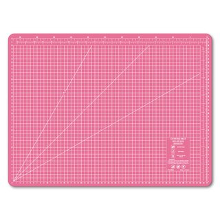 Lightweight odorless cutting pad (A2) peach pink translucent / art professional use