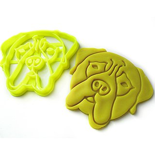 Custom Dog / Cat / Pet Portrait Cookie Cutter, Personalized with Pet Face
