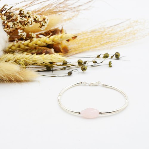 Eros lazy spring ✦ treasures (crystal powder) (925 Silver) | sterling silver bracelets