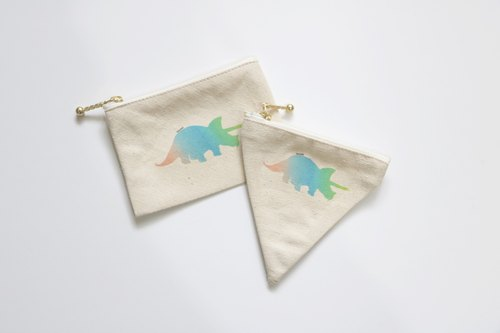 MaryWil Coin Bag-Triceratops