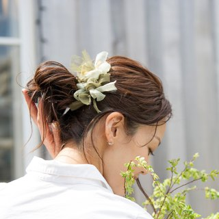 mini || Matcha || blooming braided valetta
