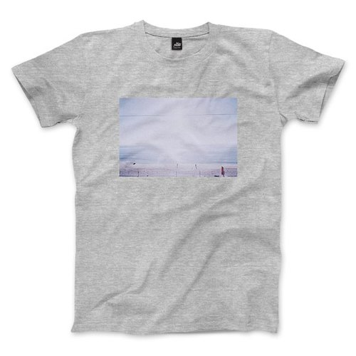 A scene at Sea - Deep Gray - Neutral Edition T-shirt