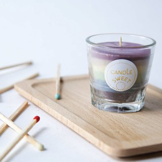 Rainbow Candle - Soy Unscented Candle 45ml //Send limited color long matches