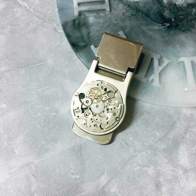 Frozen Time | Money Clip
