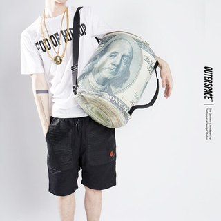 OUTER SPACE HIP HOP Laozi rich dual-purpose backpack