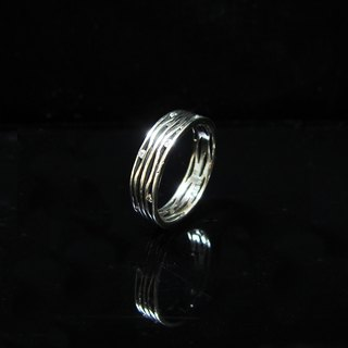 [Starry Night] handmade silver ring. Commemorative ring. Valentine's Ring