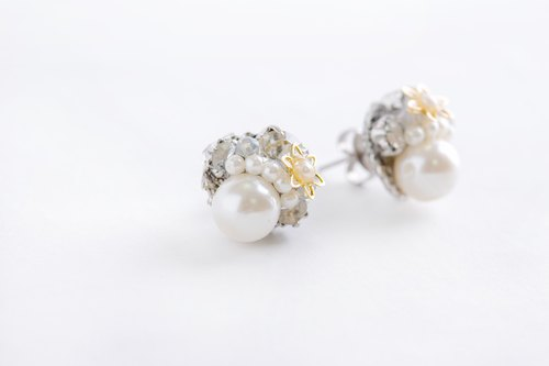Bijou & Pearl of Puchipiasu (earrings) clear