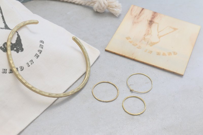 Spring blessing bag small summary ring + simple ring + paragraph ring + non-holiday bracelet