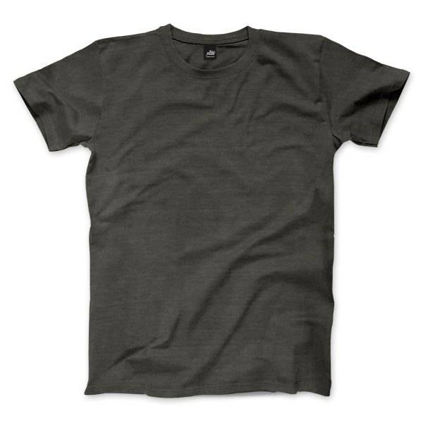 Plain American Village Short Sleeve T-Shirt - Dark Gray