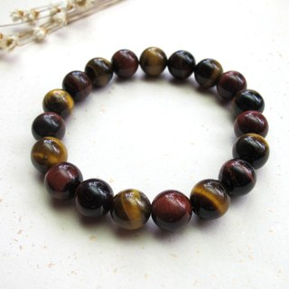 [Jin Yaohong] 10mm Two-color Tiger Eye - Hand-made Natural Stone Series