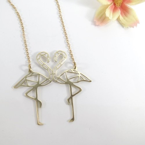 Flamingo double Necklace from WABY