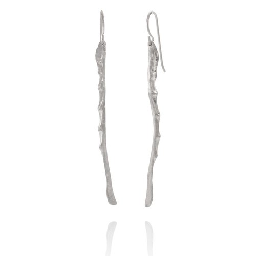 CYGNUS Sterling Silver Earrings Handmade in Iceland