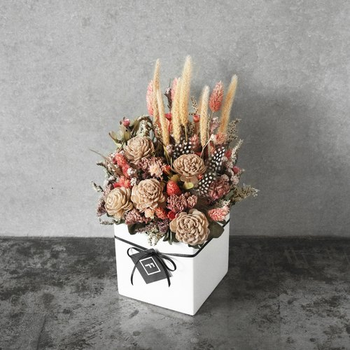 [Flowers for FORi Flower] harvest season - dry table flowers - autumn points
